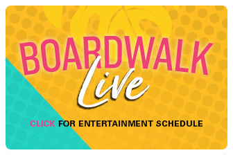 Live shows happening at the Kemah Boardwalk.